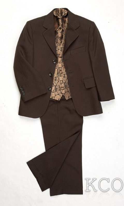 Lawrence Brown/Bronze~ Boys Suits